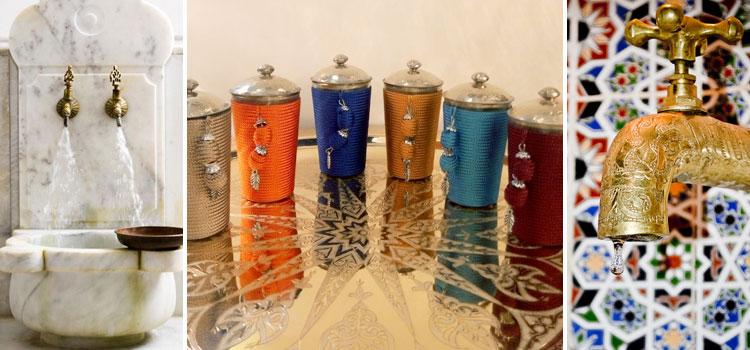 Комплектующие и аксессуары для хамама