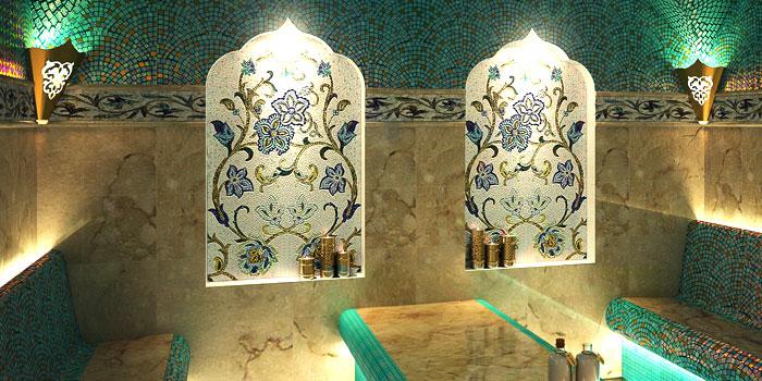Восточные светильники для хамама