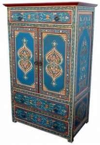 Восточный шкаф в марокканском стиле