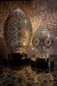 Марокканская настольная лампа