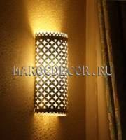 Восточные светильники настенные со стеклом изображение