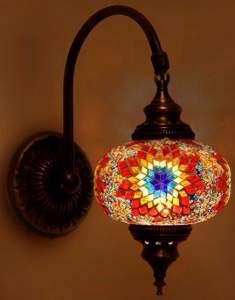 Восточные светильники, мозаичные бра