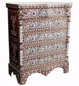 Восточные комоды и тумбочки, марокканский стиль