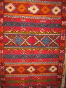 Шерстяной марокканский ковер ручной работы, марокдекор