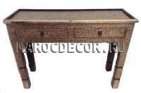 Марокканская этническая консоль ручной работы