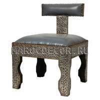 Марокканские восточные стулья и пуфы