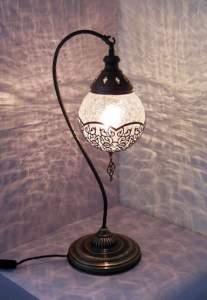 Восточные лампы со стеклом