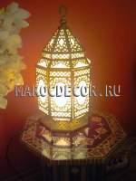 Марокканский настольный фонарь