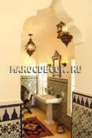Марокканская отделка хамама