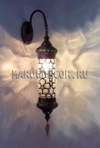 Настенный восточный светильник арт. W-174GM, Турция