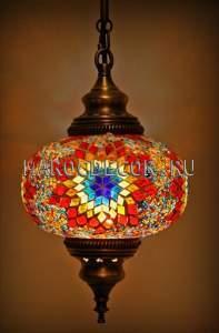 Светильник мозаичный подвесной арт.НМ-017Т, восточный стиль