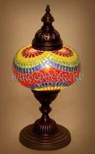 Лампа настольная мозаичная арт.ТМ-017A