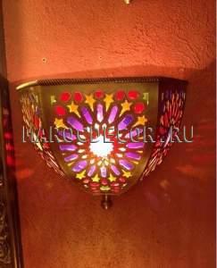Марокканский светильник настенный Aрт.062