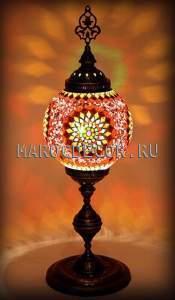 Восточная мозаичная лампа, мозаичная, из Турции