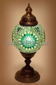 Восточная лампа арт.ТМ-015T настольная, мозаика турецкая