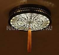 Светильник потолочный в восточном стиле