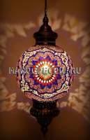 Светильник мозаичный подвесной арт.НМ-035Т