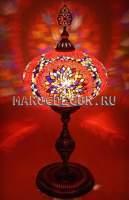Восточная мозаичная лампа арт.FM-022