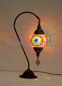Восточная мозаичная лампа  арт.ТМ-015L/2 с кронштейном, турецкий стиль