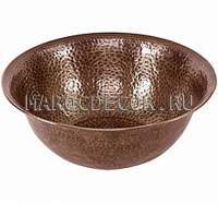Марокканская медная раковина арт.СU-09, цвет бронза
