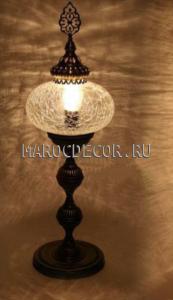Восточная лампа настольная арт.FC-022D, торшер в восточном стиле, турецкий дизайн