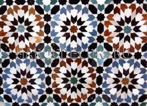 Марокканская мозаика керамическая арт. ZEL-08