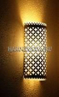 Светильник для хамама с чеканкой