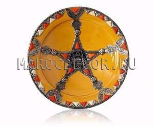 Марокканская тарелка арт.AS-10