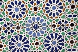 Марокканская мозаика керамическая арт. ZEL-07
