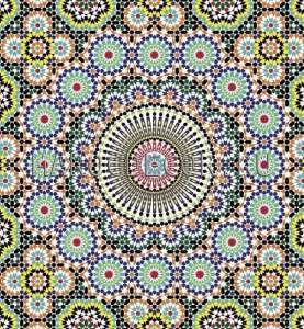 Марокканская мозаика керамическая арт. ZEL-05
