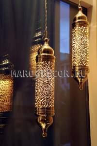 Марокканский светильник арт.ТМ-07, дизайнерский, ручная работа