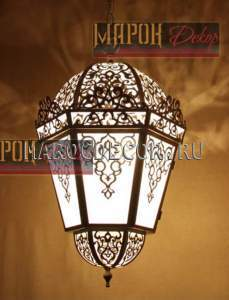 Восточный подвесной светильник арт .H-143RB