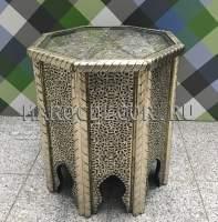 Кофейный столик арт. TB-312 с чеканкой