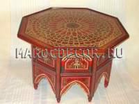 Восточный столик с росписью  арт.TB-221