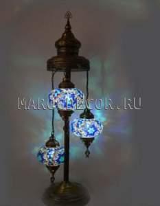 Восточная мозаичная лампа-торшер арт.FM-012Т/3а