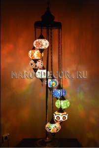 Восточная лампа-торшер арт.FM-012/9а, в наличии