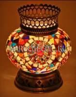 Турецкий мозаичный подсвечник арт.BG-37