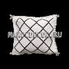 Черно-белая подушка килим арт.OR-12