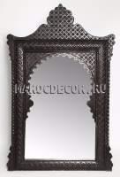 Марокканское резное зеркало арт.SR-53, деревянное , ручная работа