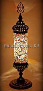 Восточная мозаичная лампа арт.TM-052  Турция, мозаика ручной работы