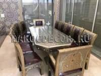 Стол обеденный в гостиную из Марокко арт.TAB-302