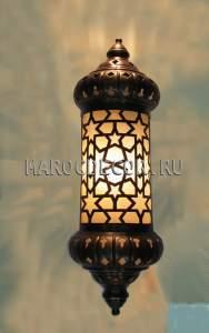 Восточный настенный  светильник для хамама арт.WY-172GM