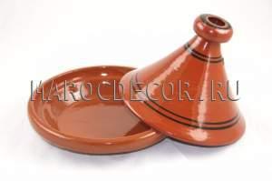 Марокканский тажин для приготовления пищи арт.TJ-21, ручная работа