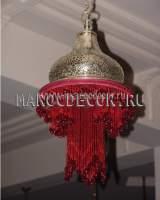 Марокканская люстра арт.PACHA-RED