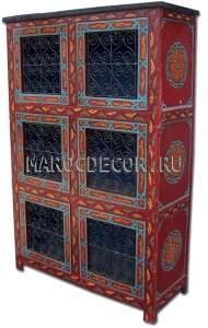 Шкаф с ящиками   в восточном стиле арт.PLC-04