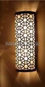 Cветильник в восточном стиле для хамама арт.WY-115/30, латунный,  влагозащищенный.
