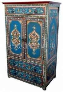 Шкаф  в восточном стиле с 3 ящиками арт.PLC-02