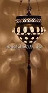 Восточный турецкий подвесной светильник арт.H-120/B