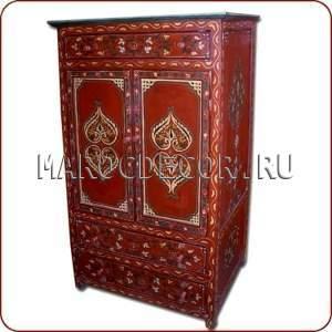 Шкаф-комод в восточном стиле арт.PLC-06