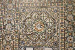 Марокканская мозаика арт.ZEL-12